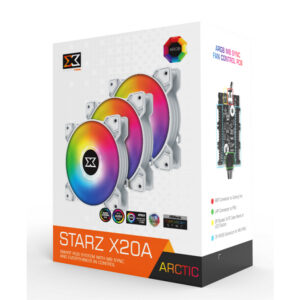 Quạt Case Xigmatek STARZ X20A ARTIC ARGB EN46782