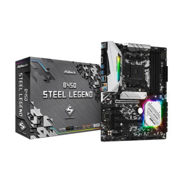 Mainboard ASROCK B450 Steel Legend (AMD)
