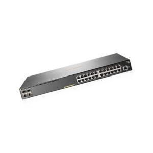 Gigabit Switch Aruba JL255A 2930F 24 Ports PoE+ 370W, 4 SFP+ Uplink