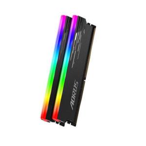 KIT Ram Gigabyte AORUS RGB 16GB (2 x 8GB) DDR4 Bus 3333MHz GP-ARS16G33