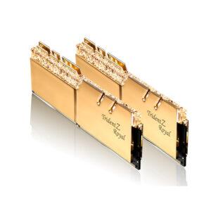 KIT Ram G.SKILL Trident Z Royal RGB DDR4 16GB (8GB x 2) 3200MHz F4-3200C16D-16GTRG
