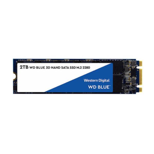 Ổ cứng SSD WD Blue 2TB M2-2280 SATA 3 WDS200T2B0B