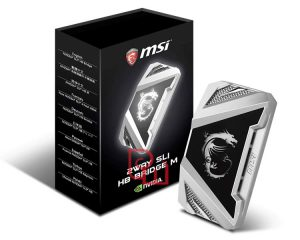 MSI 2WAY SLI HB BRIDGE Silver M
