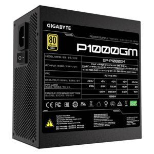 Nguồn máy tính Gigabyte GP-P1000GM – 1000W – 80 Plus Gold – Full Modular