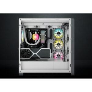 Case Corsair 5000D Airflow TG White CC-9011211-WW
