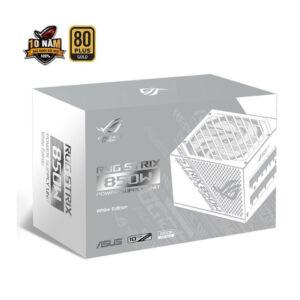 Nguồn máy tính ASUS ROG STRIX 850W GOLD ( WHITE EDITION )