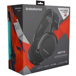 Tai Nghe Steelseries Arctis 7 Black 2019 Edition (61505)