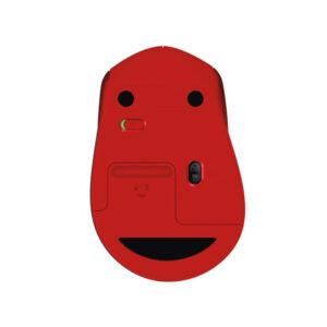 Chuột không dây Logitech M331 Silent Đỏ