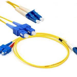 Dây nhảy quang DINTEK Single-mode Duplex SC-LC 3m