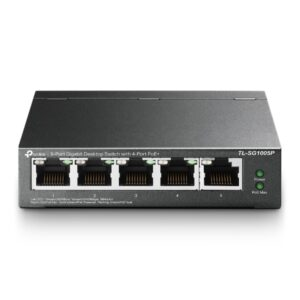 Switch TP-Link 5 cổng Gigabit PoE+ TL-SG1005P