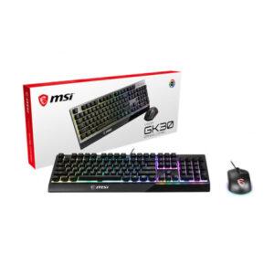 Chuột bàn phím MSI Vigor GK30 Combo US (140key) GK30-GM11