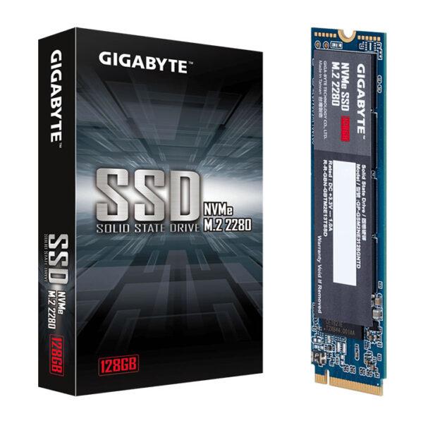 Ổ Cứng SSD Gigabyte 128GB M.2 2280 PCIe NVMe Gen3 x4 GP-GSM2NE3128GNTD