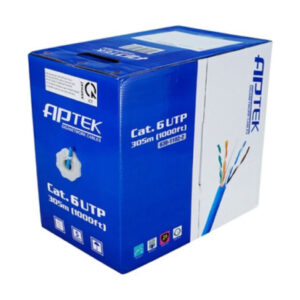 Cáp mạng APTEK CAT.6 UTP Copper, 23AWG, vỏ nhựa PVC 630-1102-2