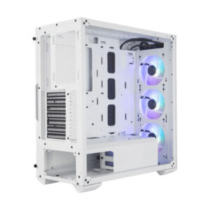 Vỏ case Cooler Master MasterBox TD500 TG MESH White ARGB