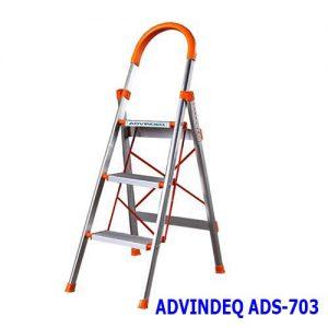 Thang nhôm ghế bản to 3 bậc ADVINDEQ ADS-703