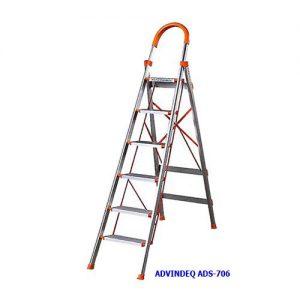 Thang nhôm ghế bản to 6 bậc ADVINDEQ ADS-706