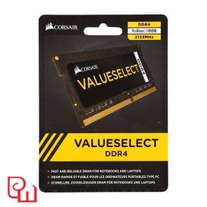 Ram Laptop Corsair 4GB (1 x 4GB) DDR4 bus 2133 C15 Value CMSO4GX4M1A2133C15
