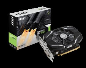 Card màn hình MSI GeForce GTX 1050 Ti 4G OCV1