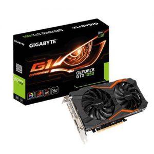 Card màn hình Gigabyte GeForce GTX 1050 2GB GDDR5 G1 Gaming (GV-N1050G1-GAMING-2GD)
