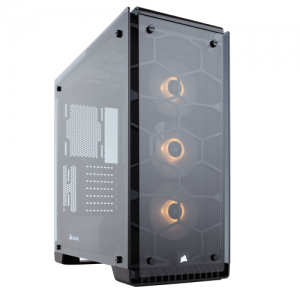 Case Corsair Crystal Series 570X Black RGB Tempered Glass