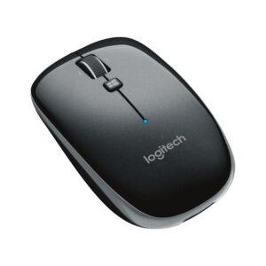 Chuột không dây Bluetooth Logitech M557 (Đen, Trắng)