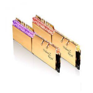 KIT Ram G.SKILL Trident Z Royal RGB DDR4 16GB (8GB x 2) 3000MHz F4-3000C16D-16GTRG