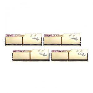 KIT Ram G.SKILL Trident Z Royal RGB 32GB DDR4 (8GB x 4) 3200MHz F4-3200C16Q-32GTRG