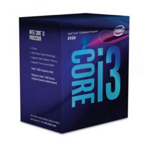 CPU Intel Core i3-8100 (3.6GHz)