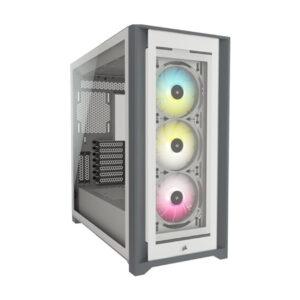 Case Corsair iCUE 5000X RGB TG White - NEW CC-9011213-WW