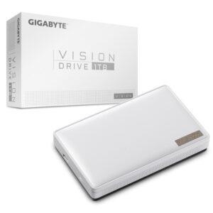 Ổ cứng di động Gigabyte VISION DRIVE 1TB USB3.2 Gen2x2 GP-VSD1TB