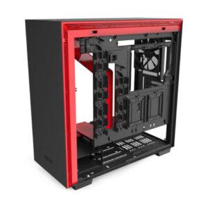 Vỏ case NZXT H710 Matte Black Red