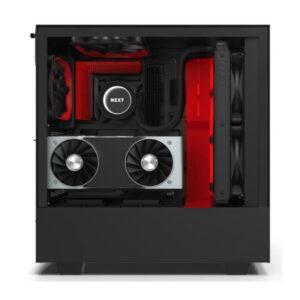 Vỏ case NZXT H510i Matte Black Red