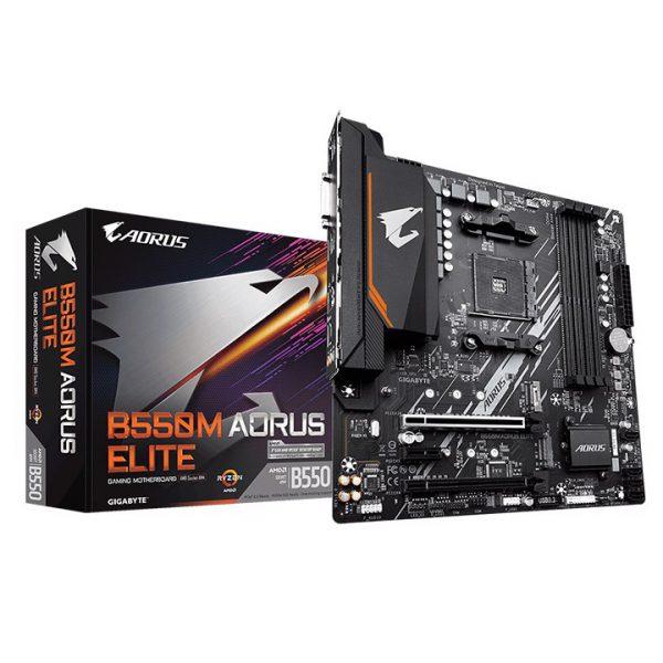Mainboard Gigabyte B550M AORUS ELITE (AMD)