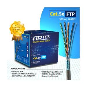 Cáp mạng APTEK CAT.5e FTP Copper, 24AWG, vỏ nhựa PE 530 - 2113-2