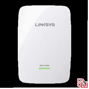 Bộ mở rộng sóng Powerline Wifi Linksys RE4100W