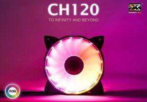 Quạt tản nhiệt Xigmatek CH120 RAINBOW RGB