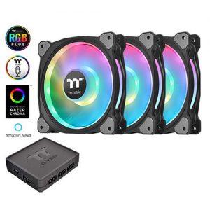 Quạt case Thermaltake Riing Duo 12 RGB (Bộ 3 Fan) - CL-F073-PL12SW-A