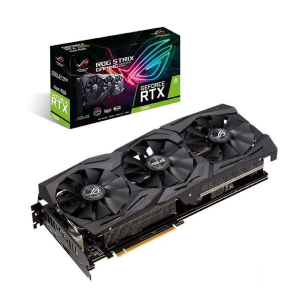 Card màn hình Asus GeForce RTX 2060 6GB GDDR6 ROG Strix Advance (ROG-STRIX-RTX2060-A6G-GAMING)