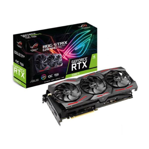 Card màn hình Asus GeForce RTX 2080Ti OC edition 11GB GDDR6 Rog Strix (ROG-STRIX-RTX2080TI-O11G-GAMING)
