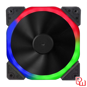 Quạt Sama Halo Dual Ring Rainbow RGB