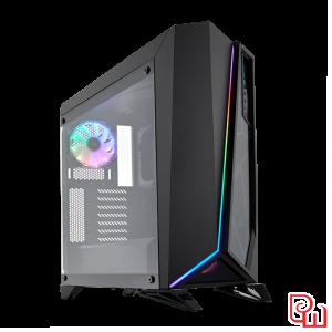 Case Corsair Carbide Series SPEC Omega RGB Tempered Glass Black