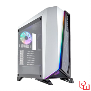 Case Corsair Carbide Series SPEC Omega RGB Tempered Glass White