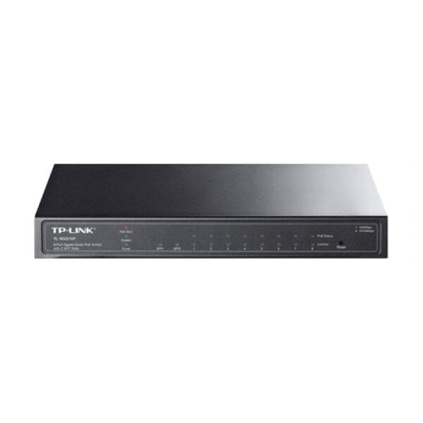 Switch TP-Link Quản Lý 8 cổng Gigabit PoE+ SFP TL-SG2210P