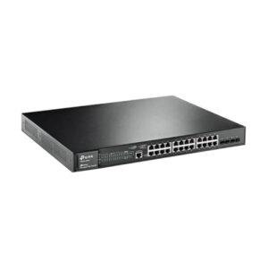 Switch POE TP-Link 24 Port T2600G-28MPS (TL-SG3424P)