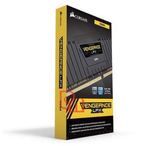 RAM Corsair 16GB (1 x 16GB) DDR4 Bus 2666 C16 Vengeance LPX CMK16GX4M1A2666C16