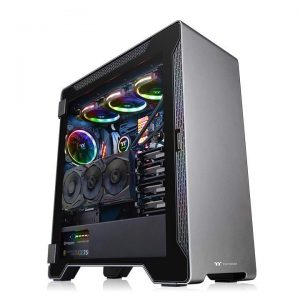 Vỏ Case Thermaltake A500 Aluminum Tempered Glass Edition Mid Tower Chassis (CA-1L3-00M9WN-00)