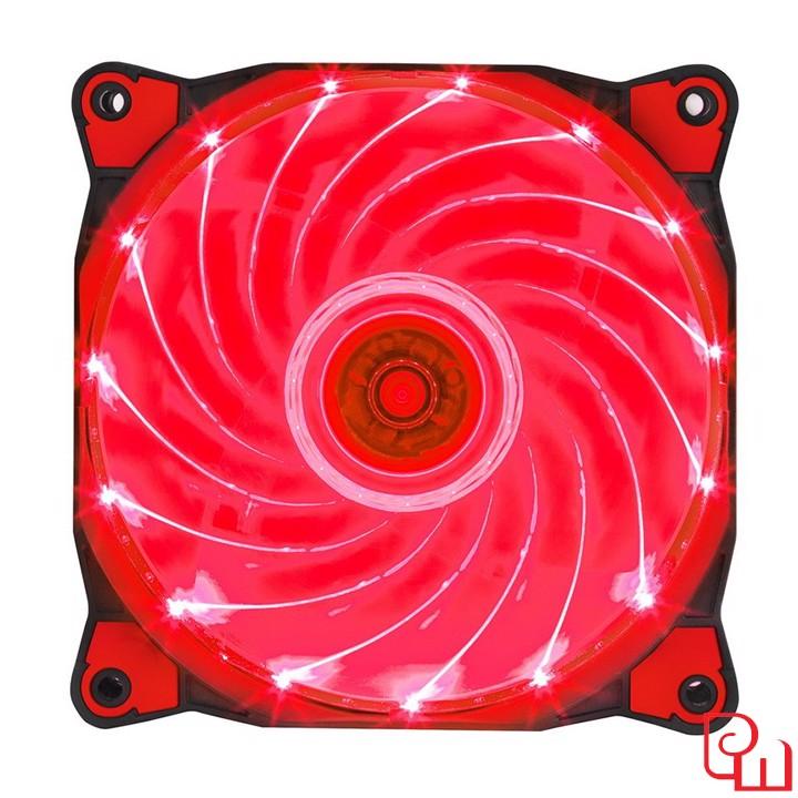 Quạt case Xigmatek X9 EP0001 (Red Led, 15 Light)