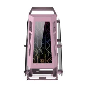 Vỏ Case Xigmatek ZEUS M QUEEN Spectrum Pink EN44030 (No Fan)